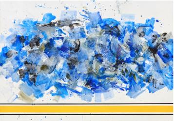 Piqueras, Jorge - Paisaje Horizontal Azul