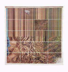 Óleo sobre tela. 180 x 180 cm 2017 $7000