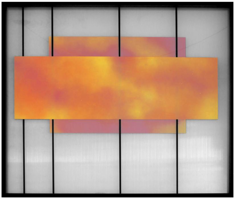 Aerosol sobre policarbonato 103 x 90 cm